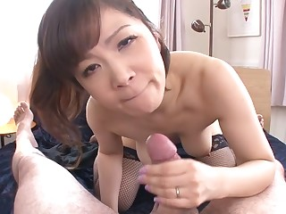 Horny Japanese whore Ichika Asagiri give Best JAV jam-packed Big Tits scene