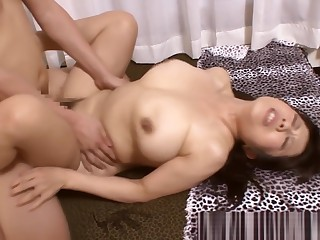 Naughty Asian grown up is fucked in the bath