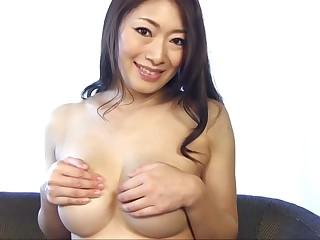 Outsider Japanese chick Reiko Kobayakawa in Incredible fat tits, solo girl JAV scene