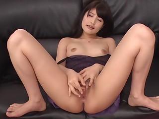 Moronic Japanese model Saki Kobashi in Amazing JAV curvaceous Masturbation film over