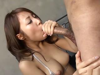 Fabulous Japanese chick Aya in Incredible JAV uncensored Big Tits video