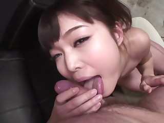 Amazing Japanese doll Megumi Shino in Hottest JAV uncensored Blowjob clip