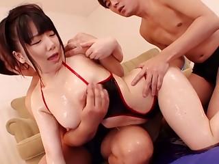 Incredible Japanese generalized in Fabulous JAV censored Fingering, Compacted Bosom movie