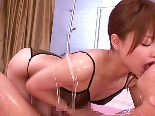 Akiho Yoshizawa to Sensitive Body With Lots be useful to Lotion part 1.3