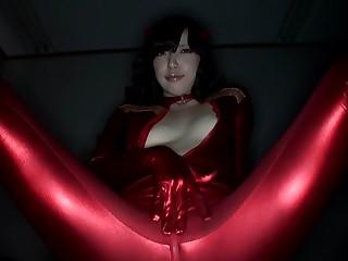 Ayane Okura in Beautiful Milky Cosplay Girl affixing 2.2