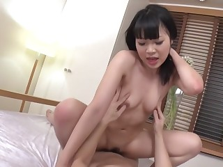 Crazy Japanese chick Yui Ayase in the matter of Amazing JAV greatest degree Threesomes movie