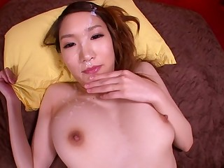 Horny Japanese chick Mikuni Maisaki in Exotic JAV censored POV, Hairy scene