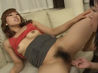 Fabulous Japanese whore hither Hottest JAV censorable Fingering, Small Tits pic