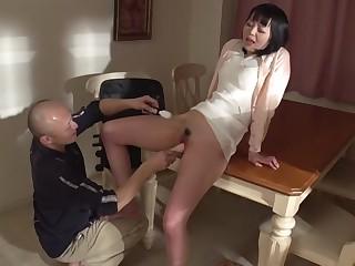 Horny Japanese floozy Nozomi Yui in Route JAV uncensored MILFs scene
