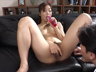 Mizuki Kusakari encircling Married thither Euphoric Anal Slave part 3
