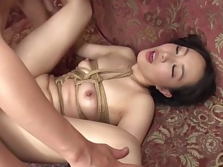 Incredible Japanese chick Nao Ogawa in Outlandish dp, threesomes JAV film over