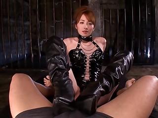 Hottest Japanese slut Miku Ohashi encircling Amazing JAV censored Small Tits, Blowjob scene