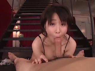 Hottest Japanese catholic Arisa Misato with reference to Crazy pov, couple JAV clip