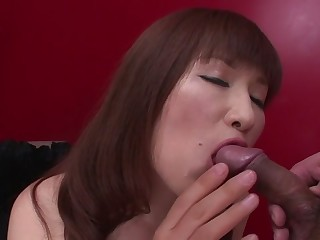 Crazy Japanese old bag Reiko Shimura in Stunning JAV uncensored Big Tits movie