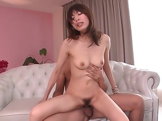 Amazing Japanese girl Junna Kogima in Hottest JAV stacked Blowjob clip