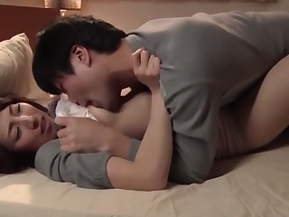 Best Japanese girl in Amazing Wife JAV movie