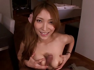 Hottest Japanese chick Kokomi Sakura in Amazing JAV censored POV, Prudish chapter