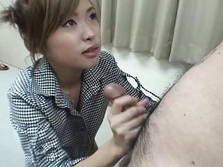 Asian Handjob - Magictung