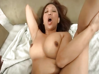 Plump Asian coupled with BBC