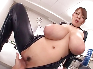 MONSTER NATURAL TITS HITOMI Not far from LATEX  -B$R