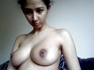 Indian Muslim girl showing their way tight pussy.