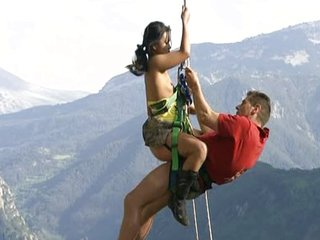 Open-air making love TO THE EXTREME!