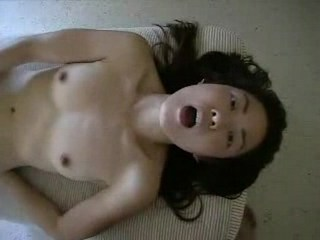 Asian chick enjoying herself