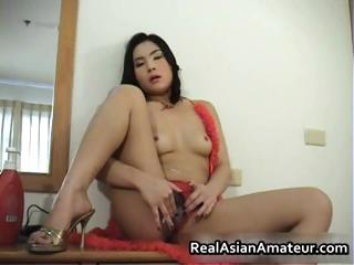 Perky asian boyfriend toying her tight part5