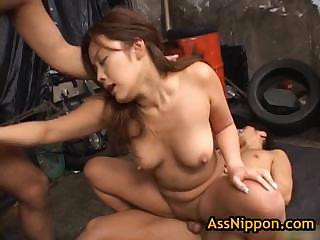 Yuka matsushita fucked coupled with fingered off out of one's mind several guys 17 off out of one's mind assnippon
