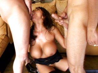 Hardcore Ava Devine emulate pounded