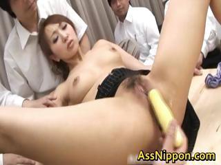 Anna Mizukawa Naughty Asian model gets part6