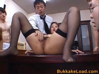 Aya Matsuki Freakish Asian non-specific on touching berth part4