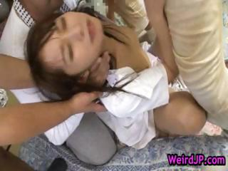 Mika osawa gets pounded wits group part2