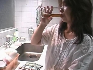 Japanese Mother Banged less Someone's skin Kitchen