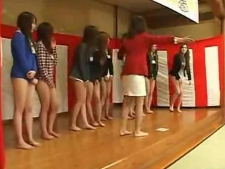 New Japanese employees strip from waist down on tap weekend retreat