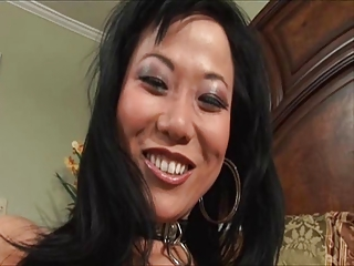 Asian deepthroat slut