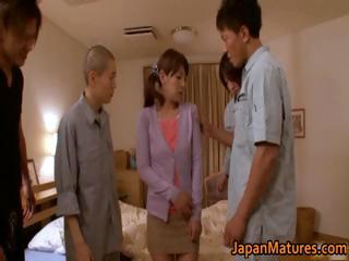Misa Yuki real asian housewife obtaining part4