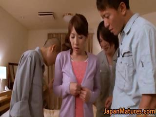 Misa Yuki real asian housewife obtaining part4