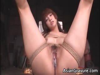 Cute asian babe involving slavery sexual connection gets part6