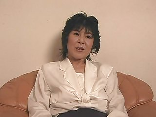 mature japanese ladie carrying-on
