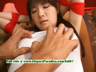 Japanese AV ecumenical is constrained added roughly gets the brush cute pussy teased