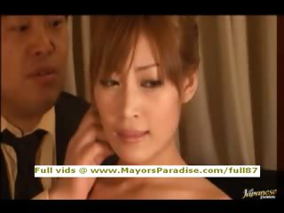 Rio Hamasaki and Kirara Asuka Asian chicks in hot hardcore order