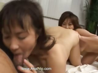 FFM japanese threesome from Tokyo