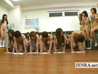 Japanese nudist students kinky vocal sex cleaning diversion