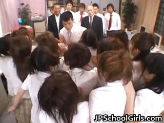 Asian beauties in school part5