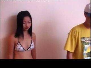 Cute asian unskilful Chowee spreads part2