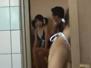 Asian babe is hot with chum around with annoy addition of bathing in chum around with annoy spa part2
