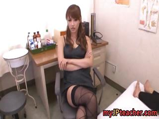 Kaera Uehara Naughty Japanese school tutor part5