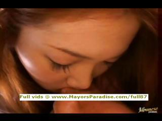 Akiho Yoshizawa innocent naughty asian girl has a auntie foursome