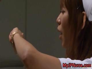 Akina Offbeat Asian poofter nurse part1